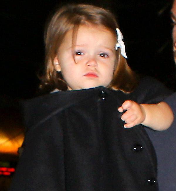 Qué adorable la hija de David Beckham!