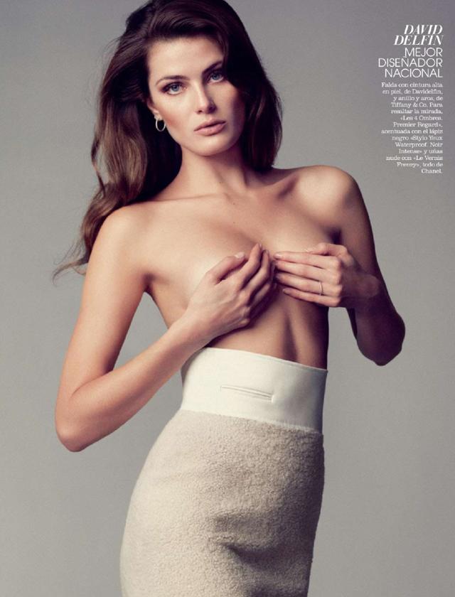 Supermodelo Brasileña Isabeli Fontana Posa Desnuda Para La