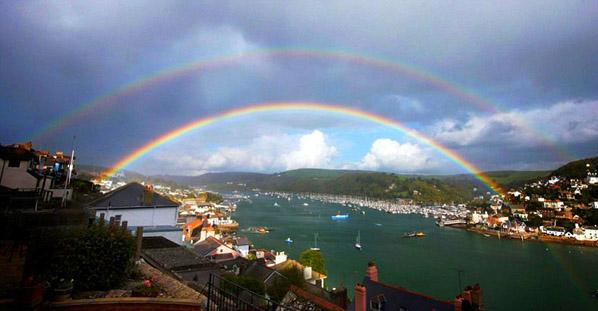 espectaculares paisajes de arco iris en el mundospanish