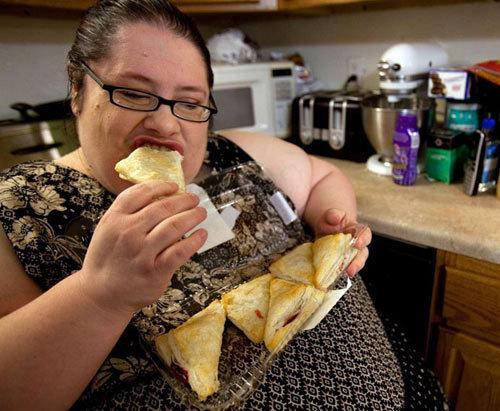 Las personas gordas se caen