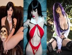 Mujeres cosplay con pechos grandes
