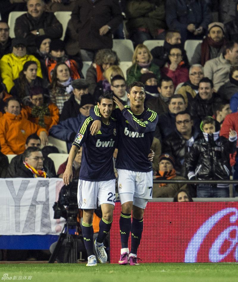 goles valencia real madrid: