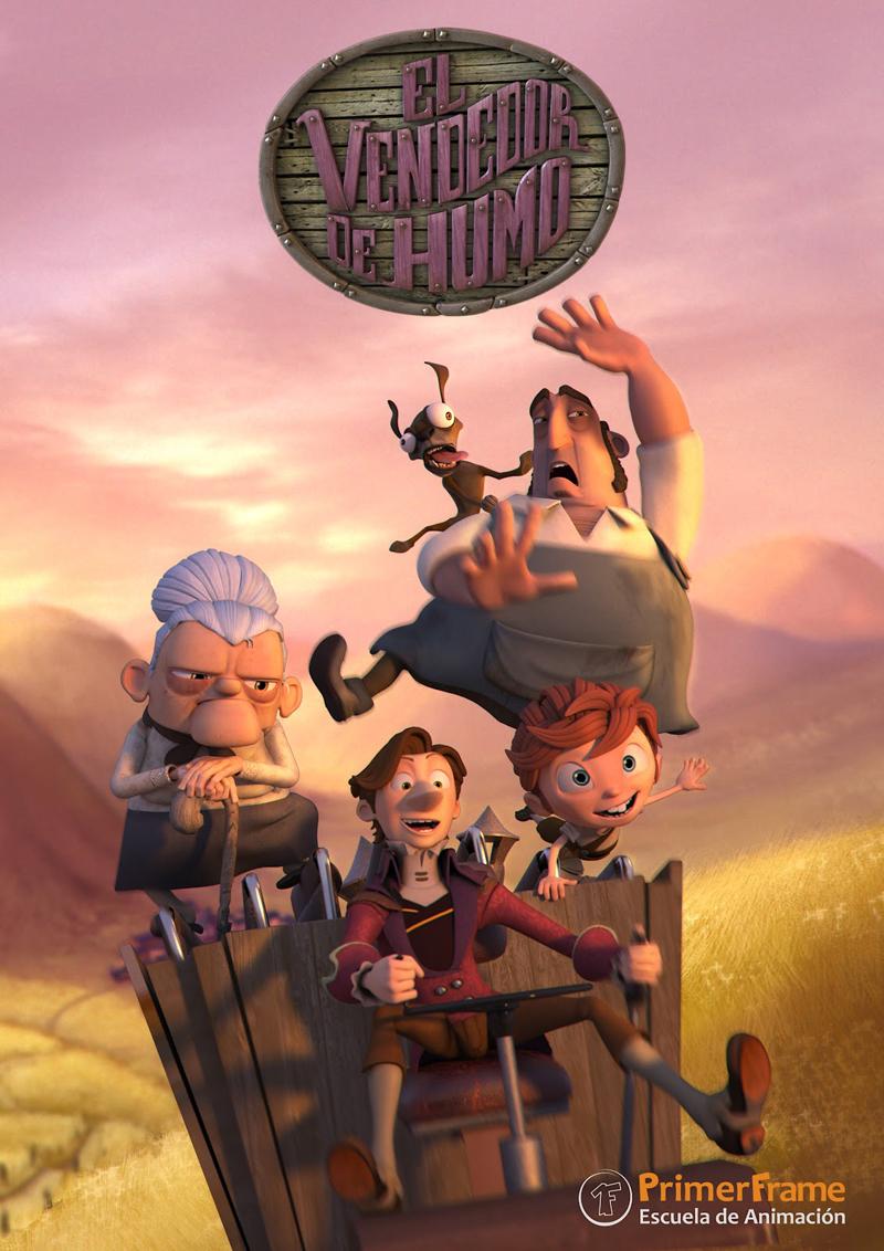 'El Vendedor de Humo',mejor cortometraje de animación español 2