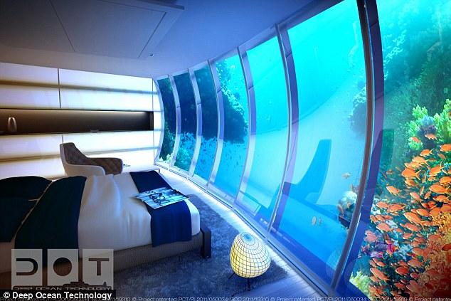Dub i construir el hotel bajo el agua m s grande del for Maldivas hotel bajo el agua