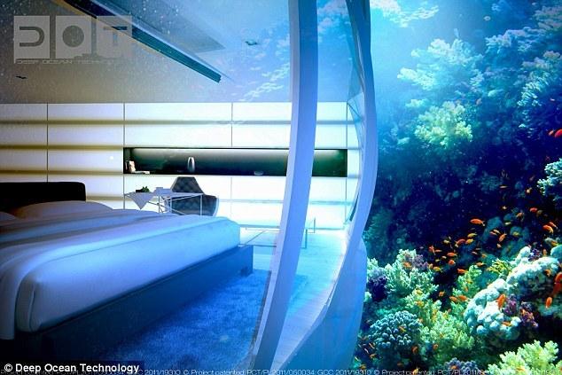 El impresionante hotel bajo el agua en dubai for Hotel bajo el agua precio