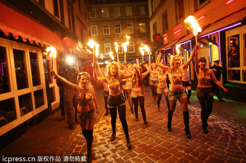 prostitutas felices prostitucion en alemania