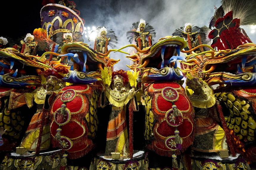 Comienza El Carnaval De R 237 O De Janeiro Spanish China Org
