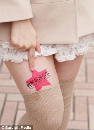 publicidad para escorts piernas