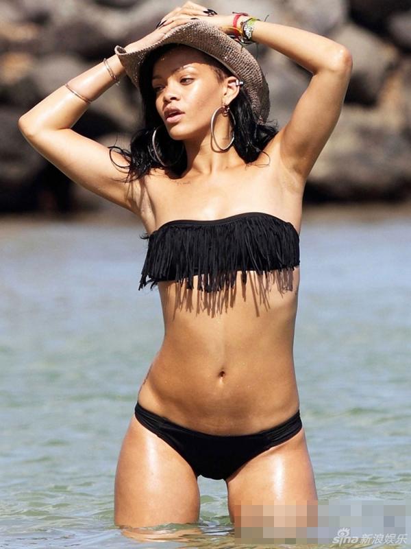Sexy fotos de Rihanna en bikini_Spanish.china.org.cn_中国最权威 ... Rihanna