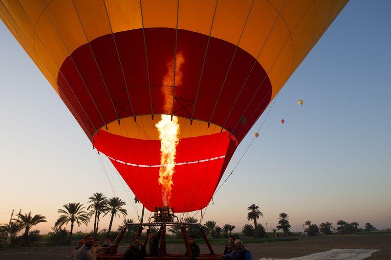 19 turistas muertos en explosión de globo en Egipto
