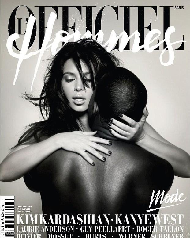 Kim Kardashian: ms fotos desnuda en Paper Magazine