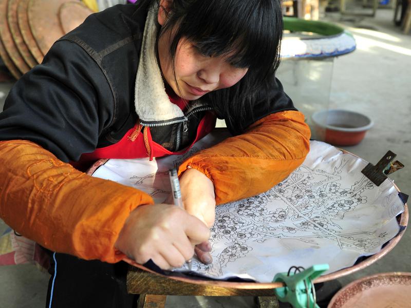 El cloisonné, una joya del arte chino 2