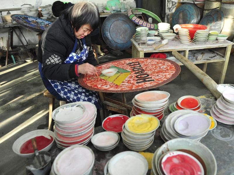 El cloisonné, una joya del arte chino 4