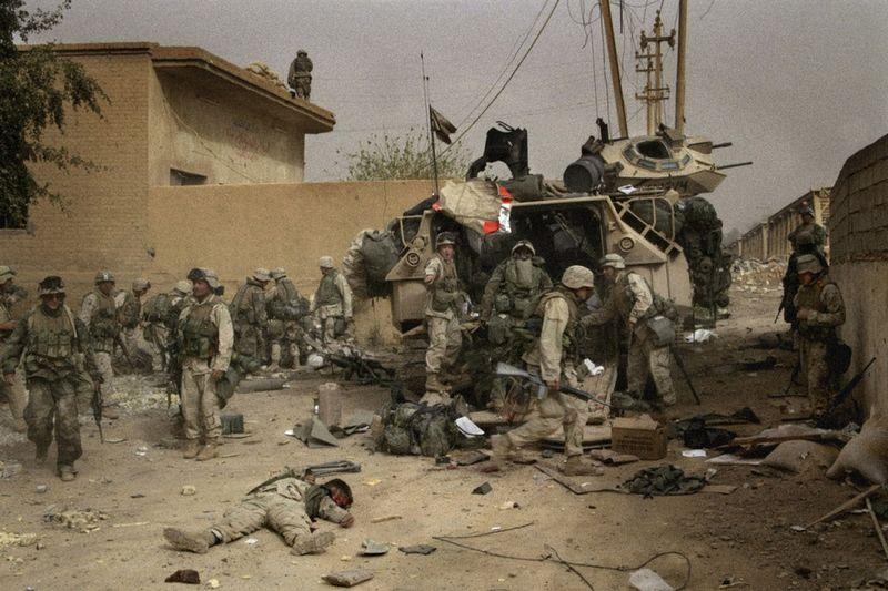 Fotos de la Guerra de Irak Sobre la Guerra de Irak