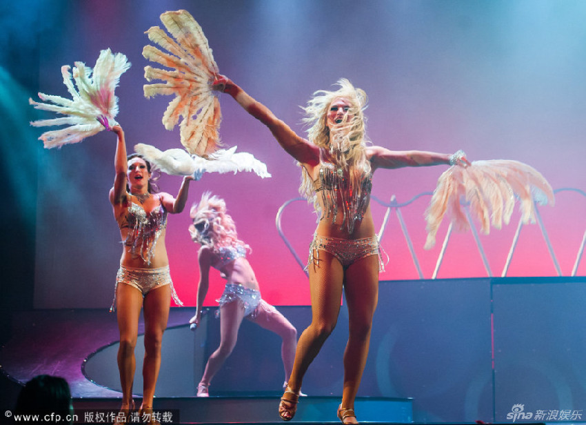Baile erotico de las chicas bala en seb 2017