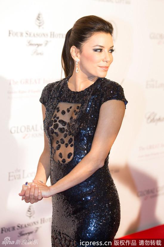 Eva Longoria,ex esposa de Tony Parker posa sexy en Global Gift_Spanish ... Eva Longoria