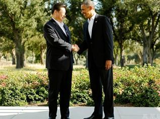 Celebran Xi Jinping y Barack Obama primera cumbre bilateral