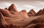 13 Fotos mágicas de paisaje hermoso formado por 'cuerpo humano'