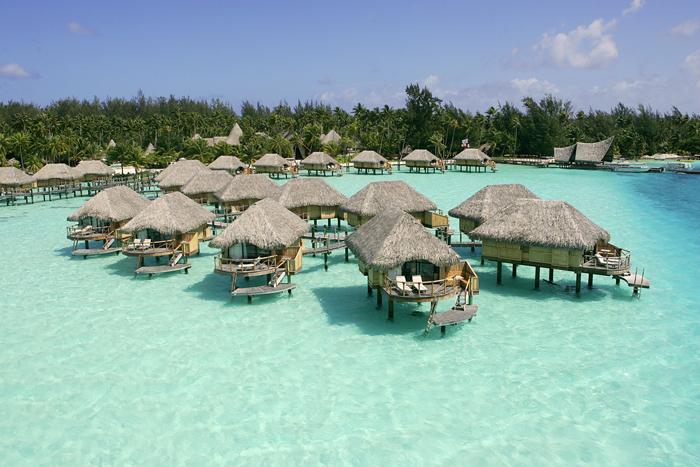 Top 10 bungalows sobre el mar m s hermosos del mundo for Bungalows dentro del mar