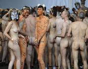 Fraternidad gay desnuda