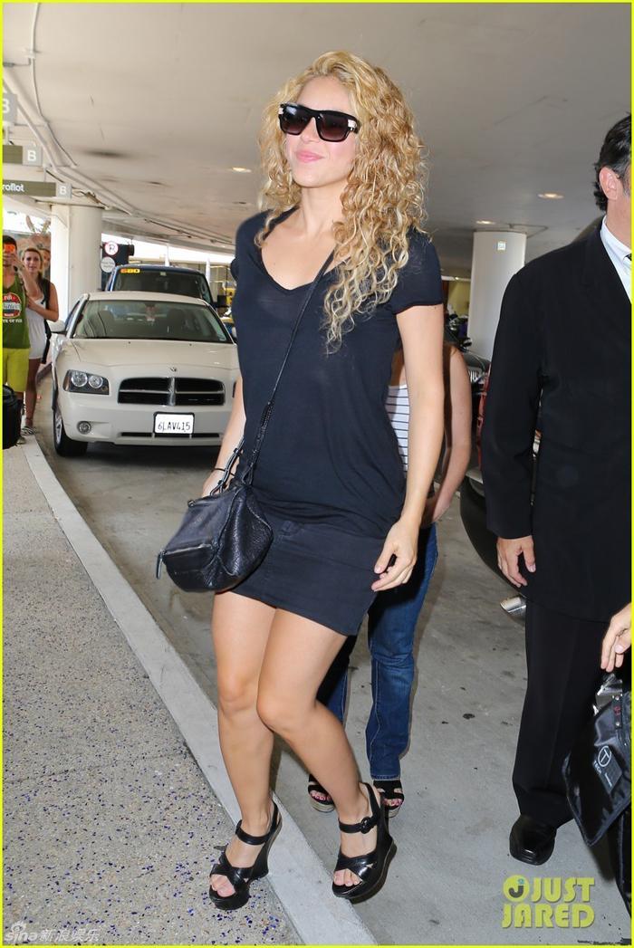 Shakira,novia de Piqué,de vacaciones en Francia con su hijo_Spanish ...