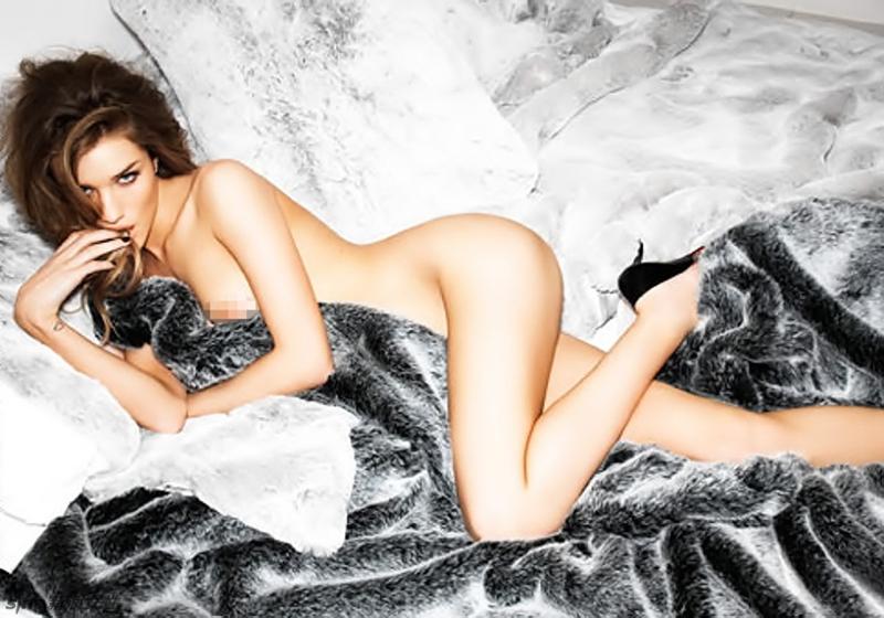 Selección De Fotos Sensuales De La Supermodelo Rosie Huntington
