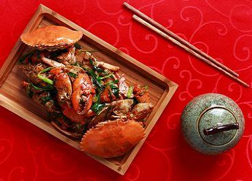 Delicias de cangrejo en el Festival del Medio Otoño