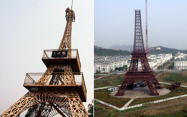China levanta otra torre eiffel for Cuando se construyo la torre eiffel