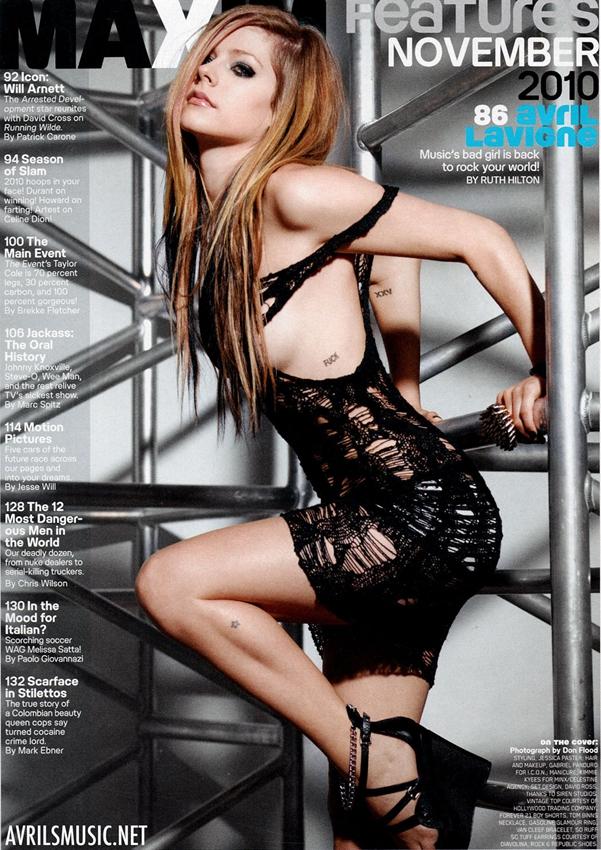 Avril Lavigne desnuda Imgenes, vdeos y grabaciones