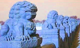La historia de los leones de piedra