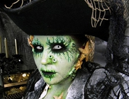 Maquillaje horripilante para Halloween