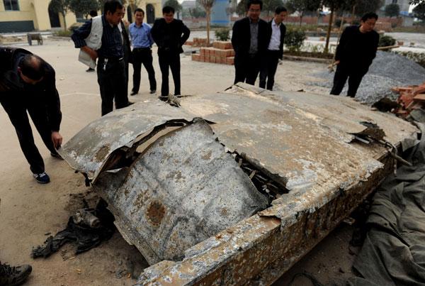 Encuentran restos de avión de combate estadounidense de la Segunda Guerra Mundial en China