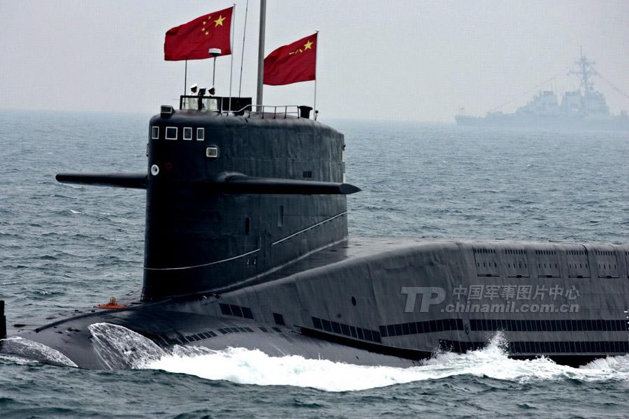 La evolución de la flota de submarinos nucleares en China