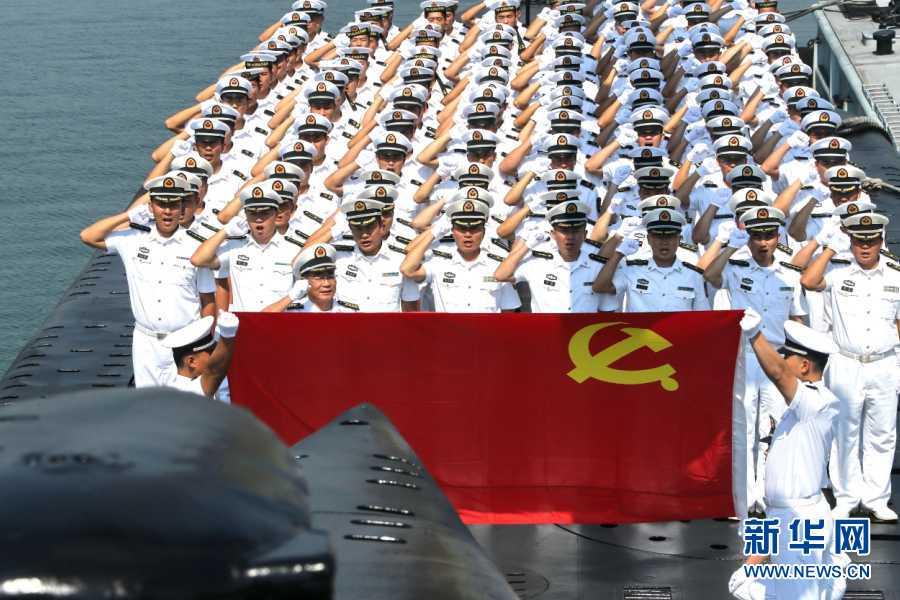 La vida y capacitación de los soldados en submarinos nucleares de China