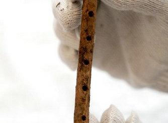 Desenterradas flautas de huesos de 8.000 años de antigüedad
