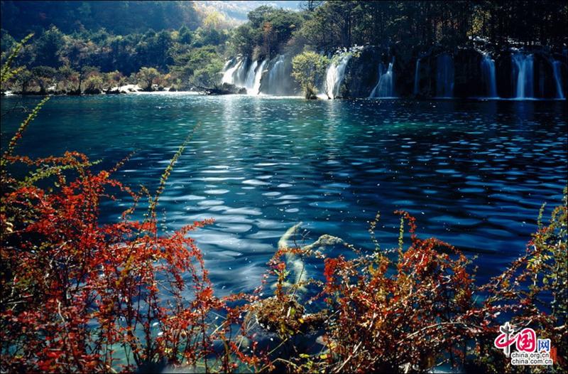 Glamorosos paisajes oto ales de jiuzhaigou patrimonio de - Imagenes paisajes otonales ...