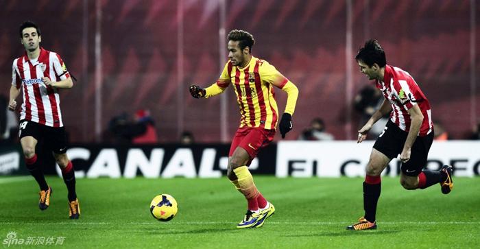 El Barça cosecha la primera derrota de la Liga ante el Athletic de Bilbao 1