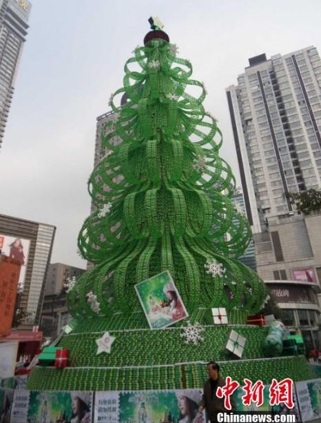Novedosos y creativos rboles de navidad - Arboles de navidad creativos ...