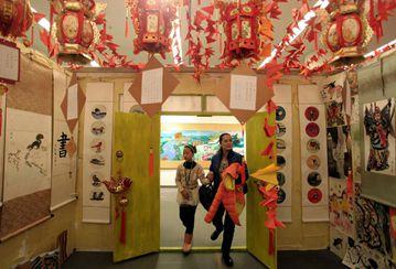 Tianjin celebra el 609º aniversario de fundación con una exposición artística
