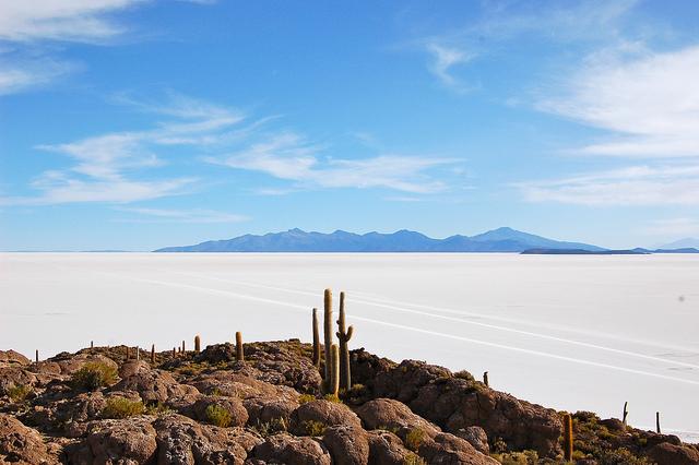 Isla Incahuasi, Bolivia