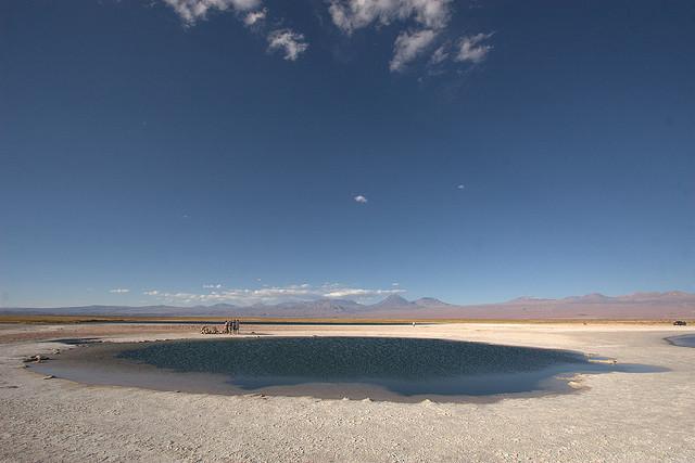 Laguna Cejar, Chile