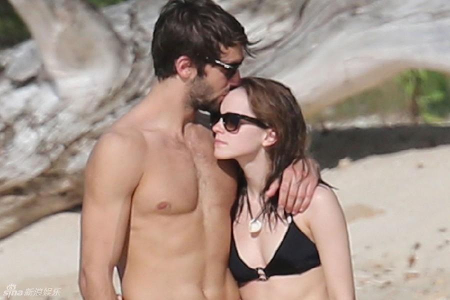 Fotos de Emma Watson y su nuevo novio en la playa_Spanish.china.org.cn ... Emma Watson