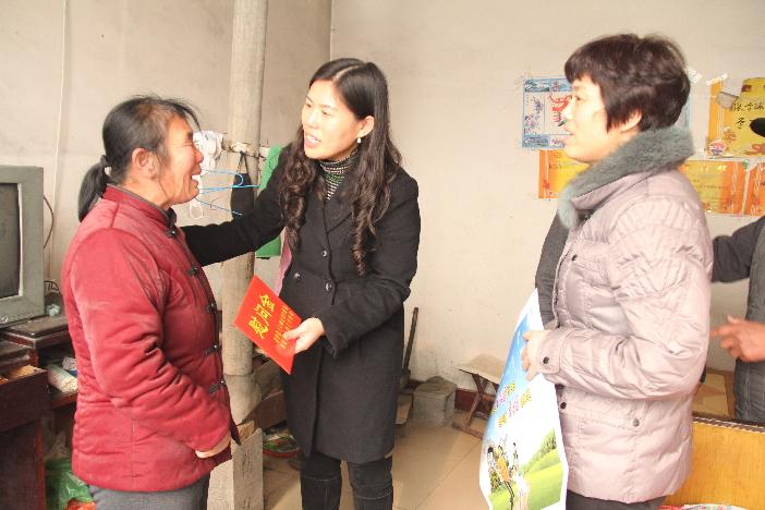 Pueblo Huagou transmite felicidades a las familias con dificultades