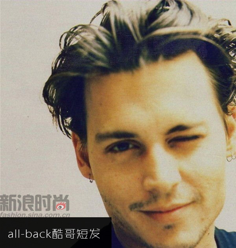 Un repaso de los peinados clásicos de Johnny Depp_Spanish.china.org ... Johnny Depp