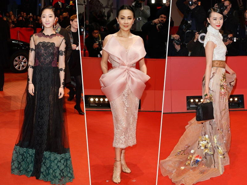 La alfombra roja del Festival Internacional de Cine de Berlín 2014