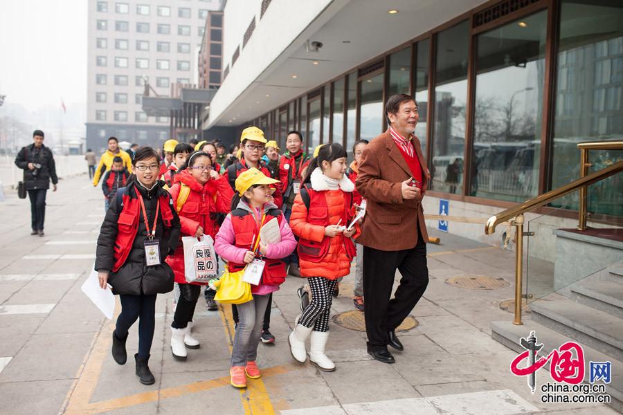 20 reporteritos trabajando con los miembros de la CCPPCh