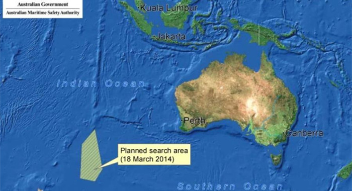 AMSA encuentra objeto sospechoso de 24 metros de longitud que podría pertenecer a avión desaparecido