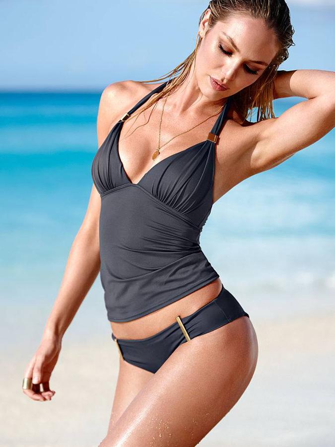 ... de la sexy ángel Candice Swanepoel en bikini de Victoria´s Secret