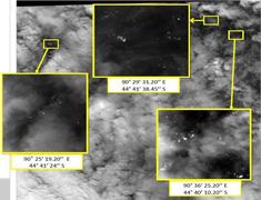 Un satélite francés detecta 122 posibles restos del MH 370