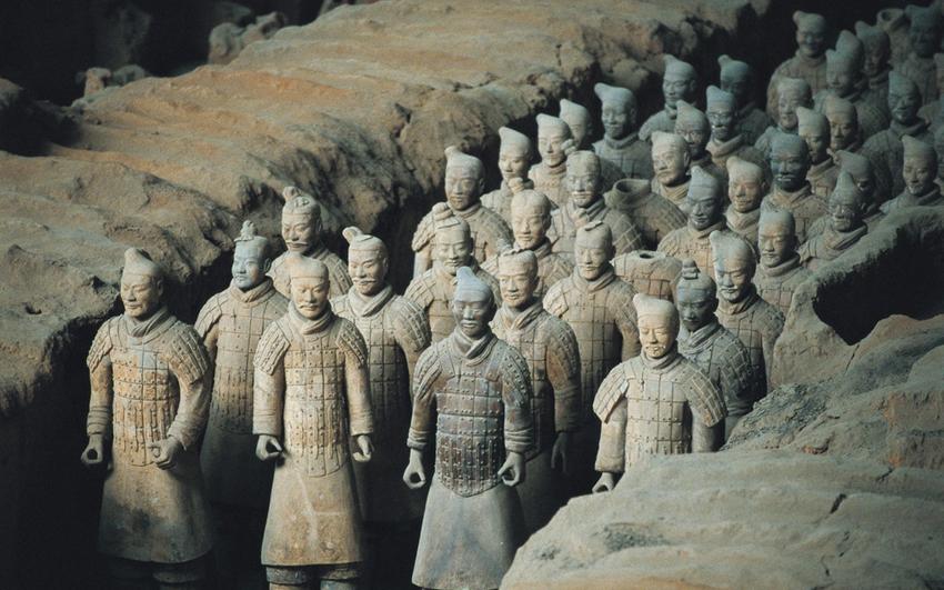 Resultado de imagen para Mausoleo del Emperador Qin Shi Huang